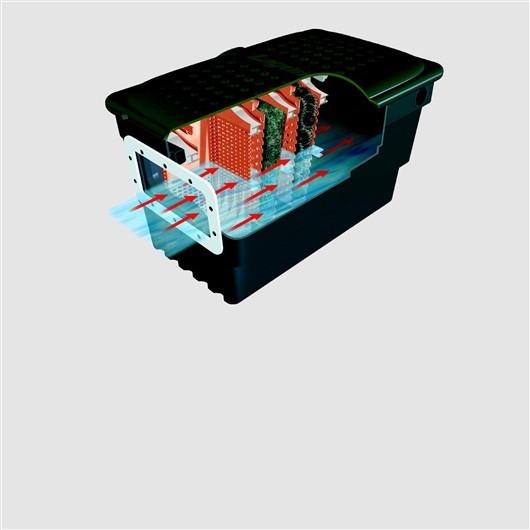 Filtro externo skimer superficie para estanque laguna for Filtro externo para estanque