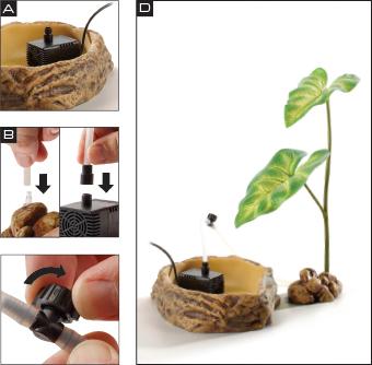 sistema de goteo dripper plant exoterra 2