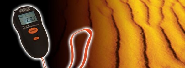 termometro infrarojo exoterra 0