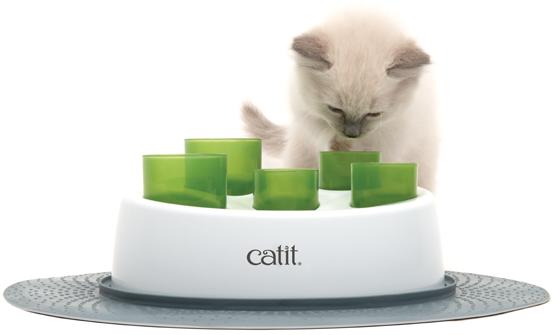 Comedero para gatos interactivo