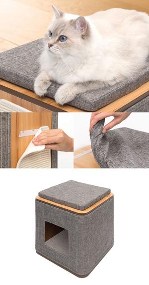 mueble rascador gatos barato