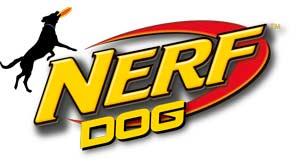 Nerf Dog logotipo, juguetes para perros