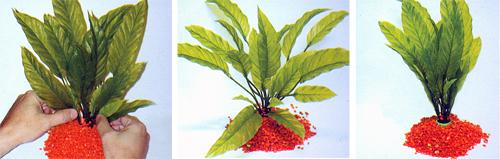 plantas plasticas espada del amazona marina jumbo 0