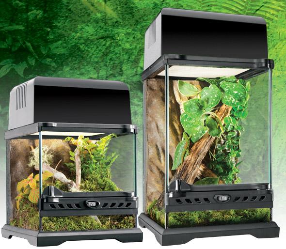 Puertas de cristal para terrario nano EXOTERRA