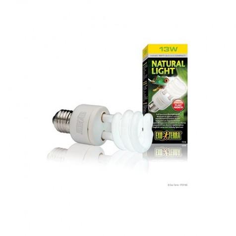 Bombilla de bajo consumo luz natural EXOTERRA 13 w