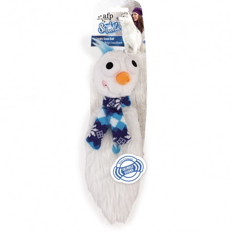 All For Paws Juguetes Crujientes Snow World