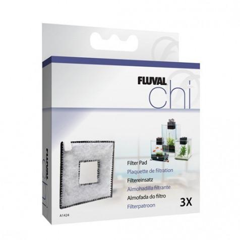 Almohadilla  Polister Carbón para Fluval CHI  3Pc_A1424