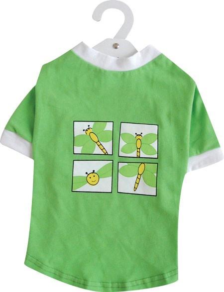 Camiseta Verde Abeja DOGIT
