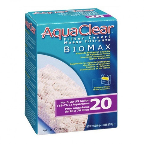 Carga Biomax Filtro Mochila AquaClear