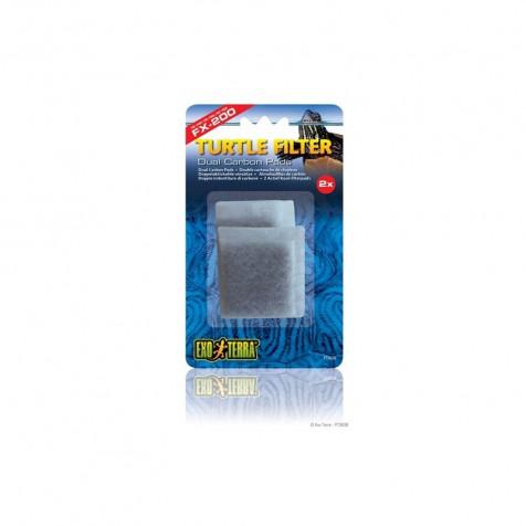 Carbón 2pc Filtro Fx EXOTERRA