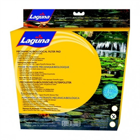 Cartucho Biológica Filtro Externo Skimmer Superficie para Estanque LAGUNA_PT1776