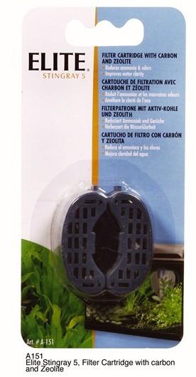 Cartucho Zeo-Carbón para Filtro Stingray 2 pc