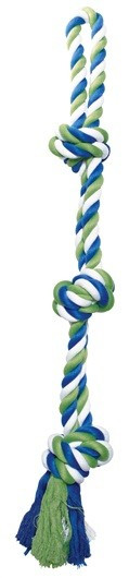 Cuerda Algodón Azul/Lima/Blaco 3 Nudos DOGIT