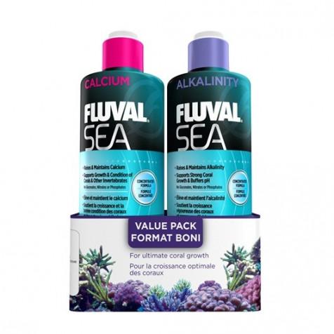FLUVAL SEA ALKALINITY/CALCIUM PACK 473 ml