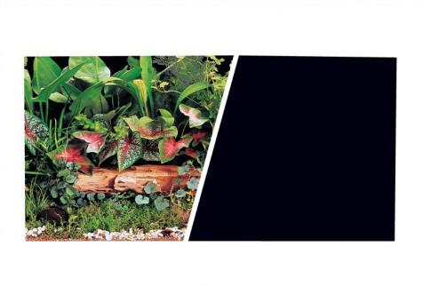 Fondo Decorativo Plantas/Negro Marina 45cm x7,6 m