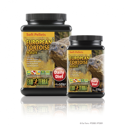 Alimento Tortuga Europea Adulta EXOTERRA