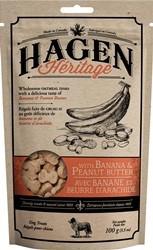 Hagen Heritage 100g  Plátano y Mantequilla  Cacahuate_92201