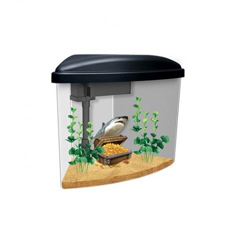 Kit acuario de 3,7L para niños MARINA Pirata