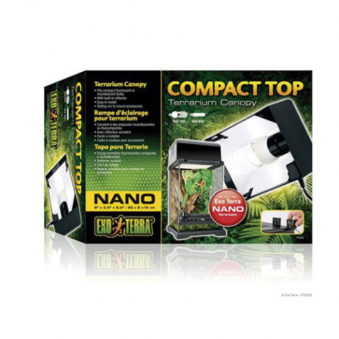 Pantalla Compact Top EXOTERRA