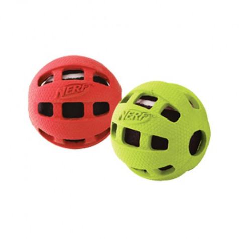 Pelota de tenis con cubierta para perros NERF 2Uds.