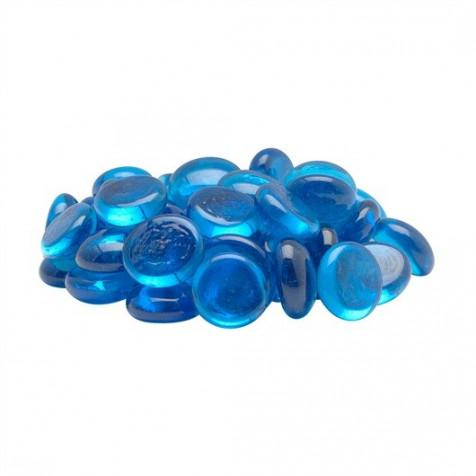 Piedras Plásticas  Marbles Azul 50 Pc MARINA_12708