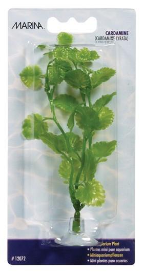 Plantas Plasticas Mini Ventosa Para Bettas Cardamine 10cm MARINA_12072
