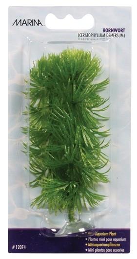 Plantas Plasticas Mini Ventosa Para Bettas Hornwort 10cm MARINA_12074