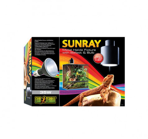 Sistema Completo Iluminación SunRay EXOTERRA