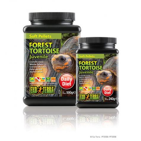 Alimento para tortuga de bosque juvenil EXOTERRA