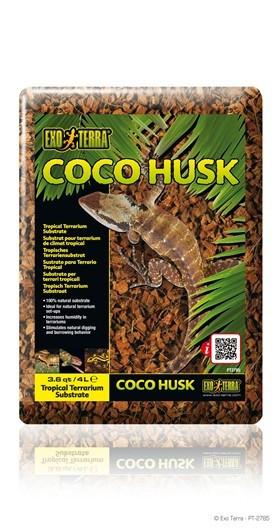 Sustrato Coco Husk  EXOTERRA