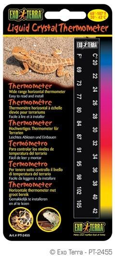 Termometro Horizontal EXOTERRA