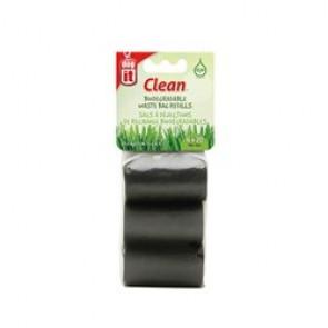 Bolsa Biodegradable Negras 6 Rollode 20 Bolsa 29,5cx23cm DOGIT_90426