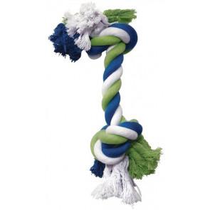 Cuerda Algodón Azul/Lima/Blanco DOGIT