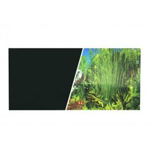 Fondo Decorativo Negro/Plantas  Marina 45cm x7,6 m