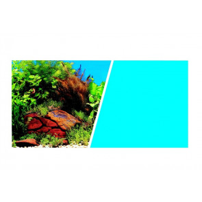 Fondo Decorativo Plantas/Azul MARINA 7,6m