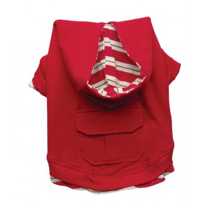 Jersey con Capucha Roja DOGIT