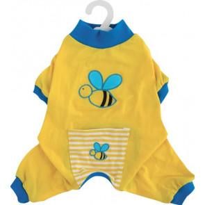 Pijama Body Amarillo Abeja DOGIT