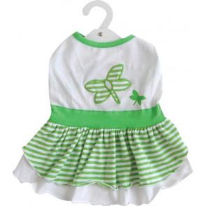 Vestido Libélula Verde DOGIT