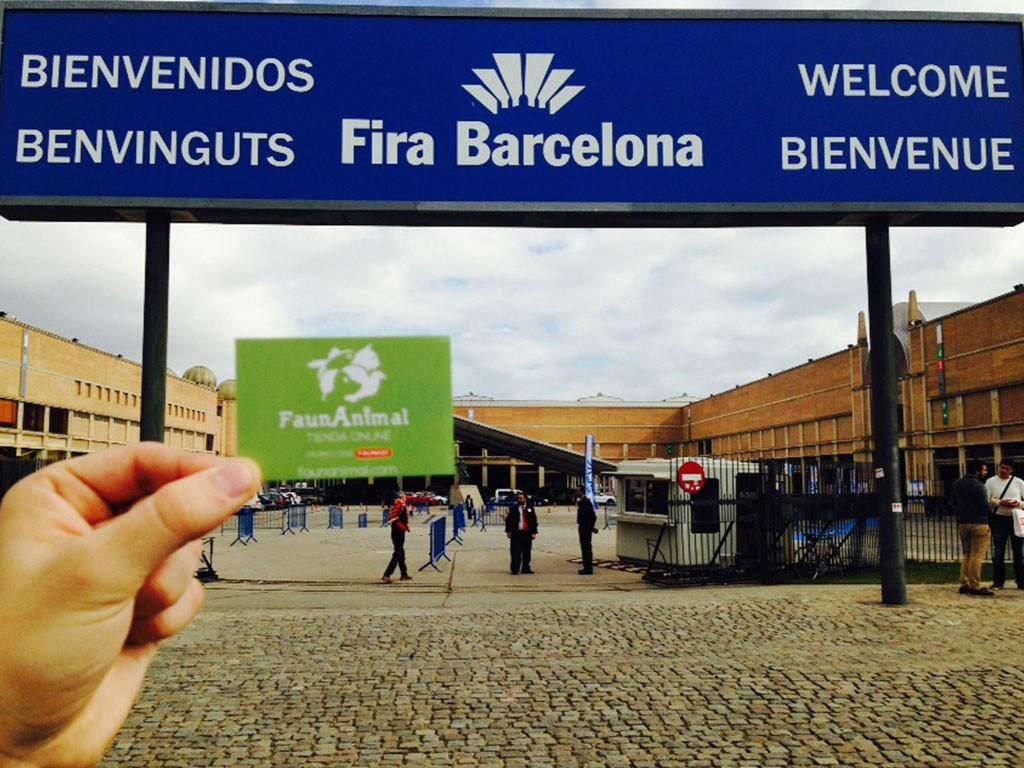 Presentamos FaunAnimal en la feria Iberzoo de Barcelona